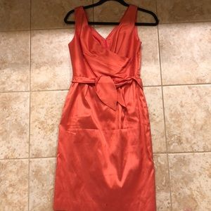 Talbots Coral/pink cocktail dress